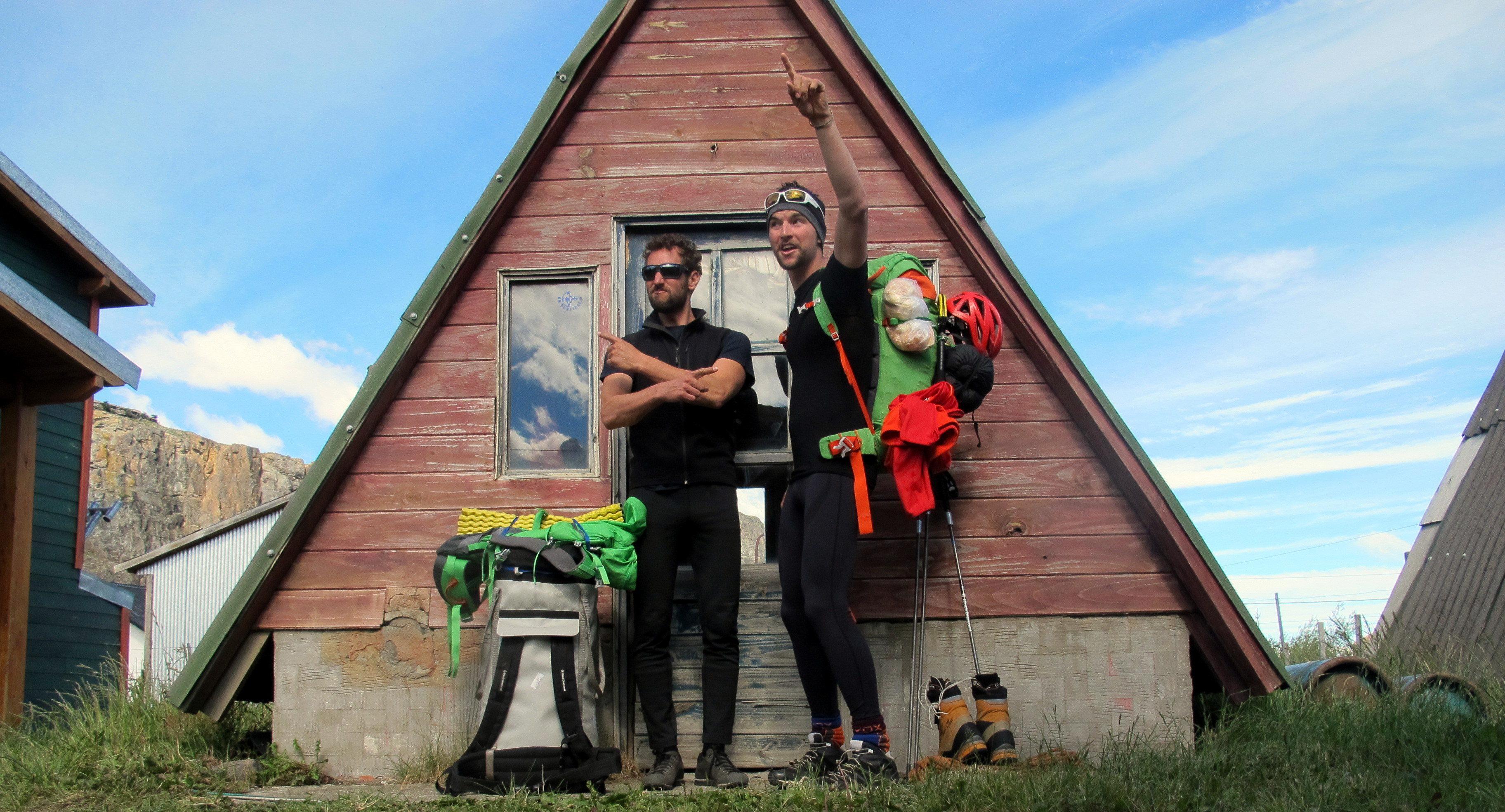 Aufbrauch zum Fitz Roy in Patagonien