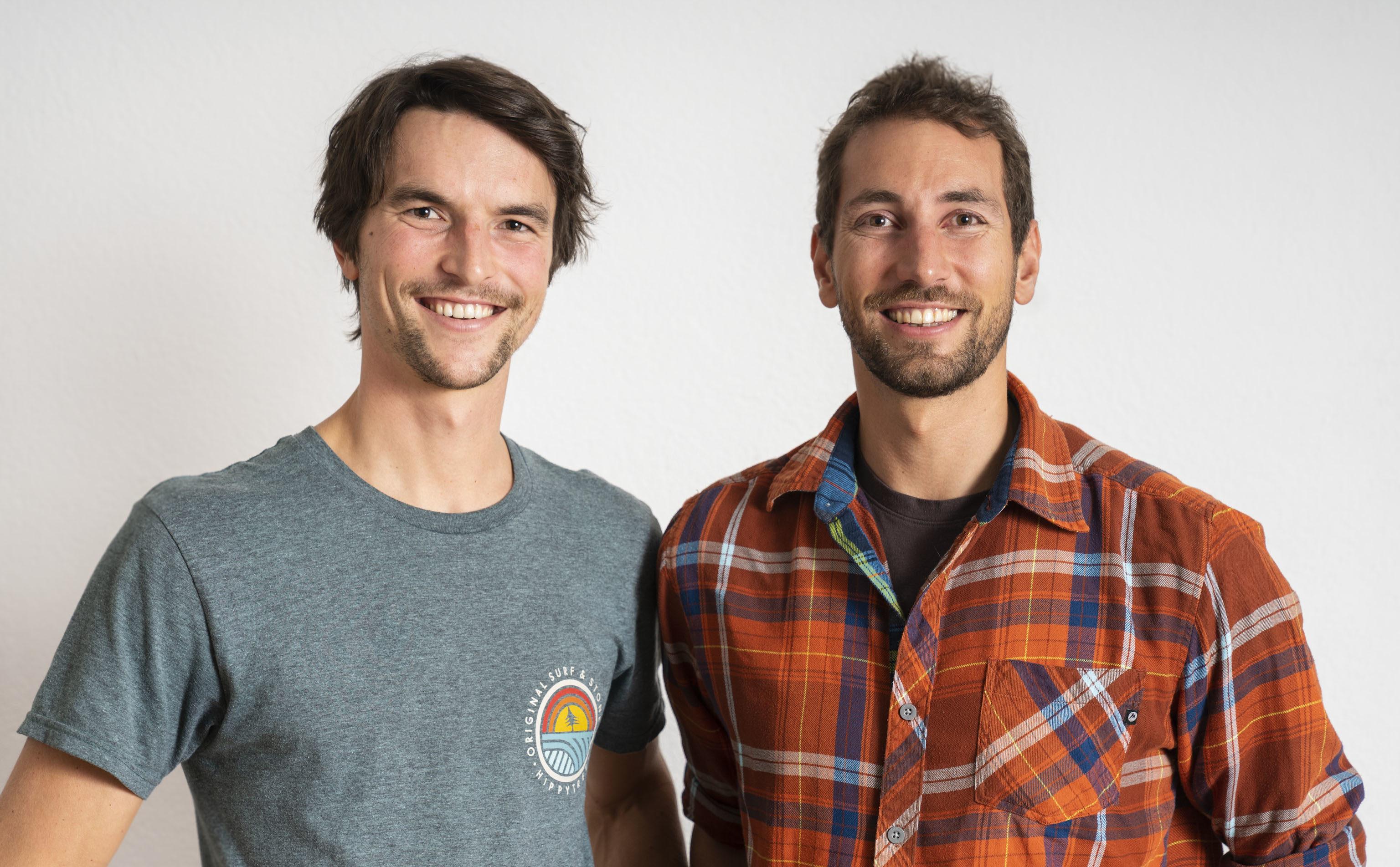 Armin Fuchs und Oliver Rohrmoser das Team, die Bergführer und die Geschäftsführer von Animont