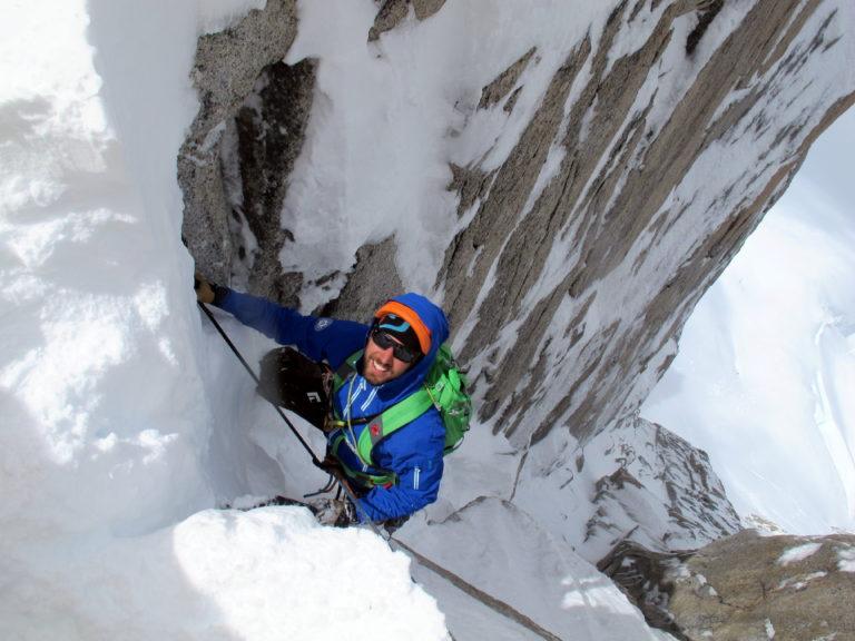Bergsteiger in Patagonien.