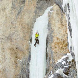 Eisklettern in den Dolomiten - Langental Gröden