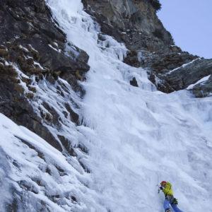 Eisklettern mit Bergführer am Felbertauern - Ammertaler