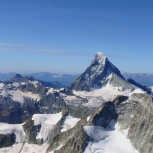 Das Matterhorn vom Arbengrat gesehen