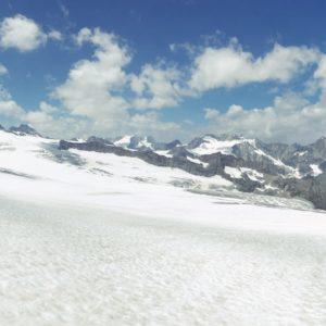 Blick zurück auf den Glacier de Ferpecle