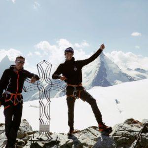 Am Gipfel der Tete Blanche