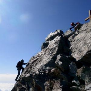 Gipfel des Lagginhorn