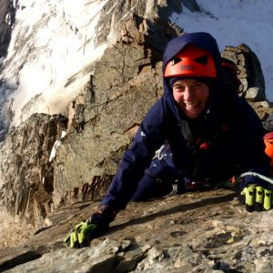 Klettern mit Bergführer am Lagginhorn Südgrat