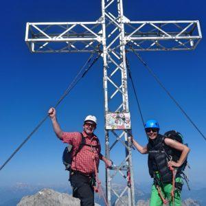 Dachstein Gipfel - Klettern am Dachstein mit Bergführer