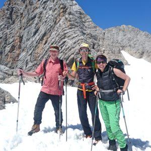 Klettern am Dachstein mit Bergführer