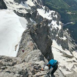 Dirndl Überschreitung - Klettern am Dachstein mit Bergführer