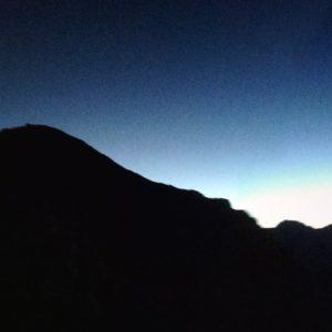 Sonnenaufgang am Sass Maor und der Cima Madonna