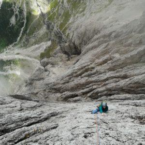 Klettern mit Bergführer in der Pala di San Martino