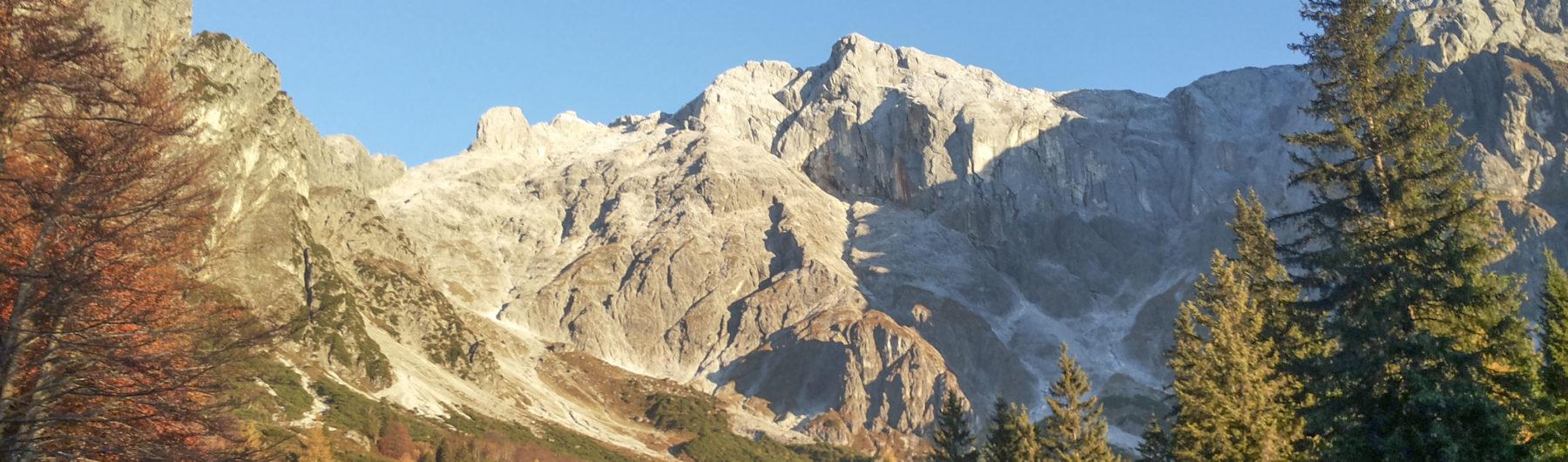 Die beeindruckende Hochkönig Südwand