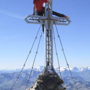 Am Gipfel der Hochalmspitze
