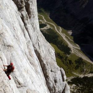 In der Vinatzer - Messner der Marmolada Südwand