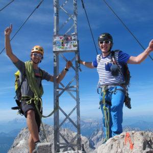 Der Steinerweg - Ein wahrlich schöner Weg auf den Gipfel des Hohen Dachsteins