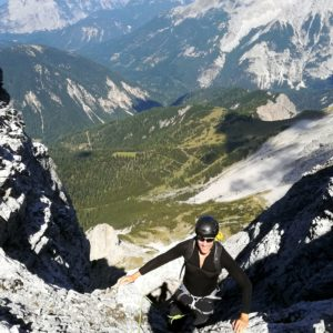 Im Karwendel: Hohe Warte Südgrat