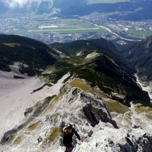 Üner Innsbruck: Hohe Warte Südgrat
