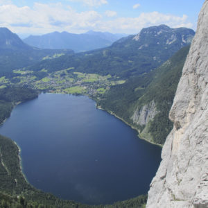 Alpinklettern im Steirischen Ennstal - Trisselwand mit Altausseer See