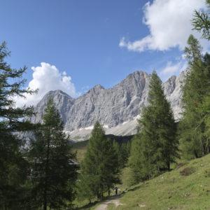 Alpinklettern im Steirischen Ennstal - Dachstein Südwand