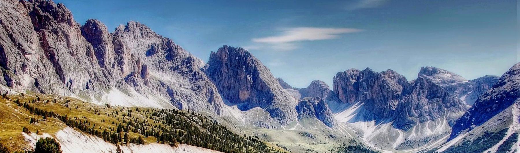 Geilslergruppe in den Dolomiten
