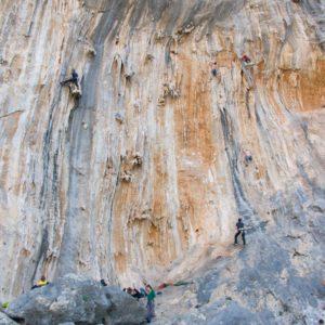 Klettergarten Ghost Kitchen auf Kalymnos