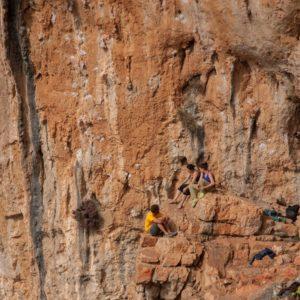 Chillen im Klettergarten Galiatani
