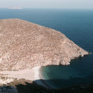 Eine einsame Bucht auf der grichischen Insel Kalymnos.