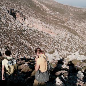 Zustieg zum Klettergarten in Kalymnos