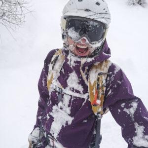 Den tiefsten Schnee gefunden!