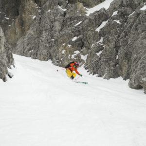 Powder Hunting - auf der Suche nach dem besten Schnee. Hier in den Dolomiten