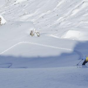 Powder Hunting - auf der Suche nach dem besten Schnee. Im Tessin