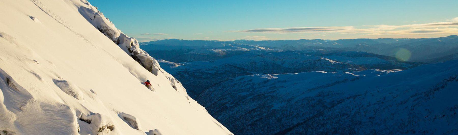 Einsame Skitouren und Freeriden im besten Schnee in Österreich und den Alpen mit Bergführer bei Animont