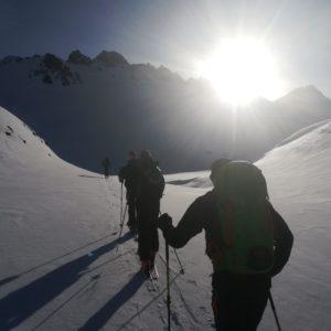 Skichochtourenkurs mit Bergführer