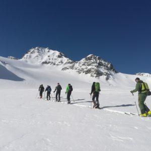 Skichochtourenkurs auf der Franz-Senn-Hütte