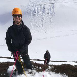 Spaltenbergung mit Bergführer