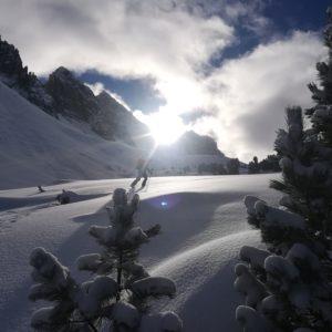 Skitouren mit Bergführer in den Innsbrucker Kalkköglen