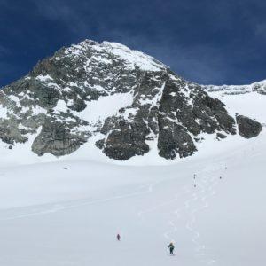 Skiabfhrt vom Großglockner mit Bergführer traumhafte Abfahrt über das Ködnitzkees