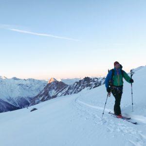 Skitour Großglockner Aufstieg über der Stüdlhütte am Ködnitzkees