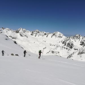 Skihochtouren in der Silvretta, tirol.