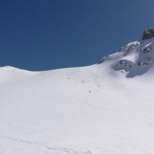 Skitouren im Jamtal, Silvretta.