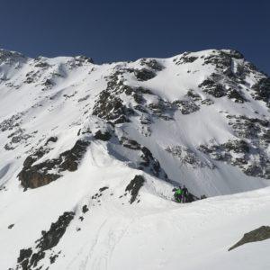 Skihochtouren mit BErgführer in der Silvretta.