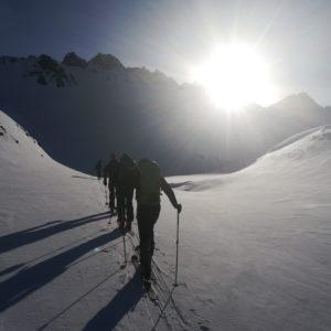 Skitouren im Jamtal