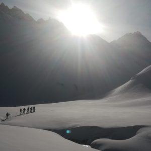 Skihochtouren auf der Jamtalütte mit Bergführer