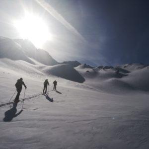 Silvretta - Skitouren mit Bergführer