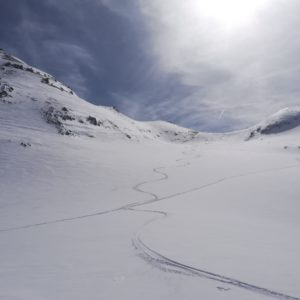 Skitouren im Jamtal.