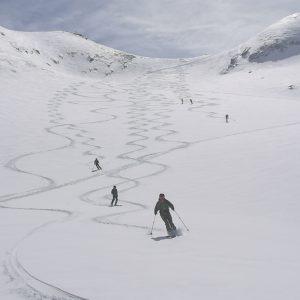 Skihochtouren auf der Jamtalhütte