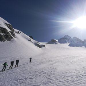 Skihochtouren in Tirol mit Bergführer