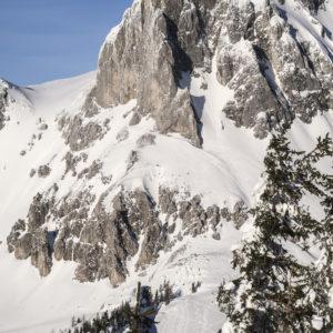 Skitouren im Gesäuse mit Bergführer - Lahngang