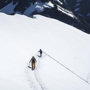 Anspruchsvolle Skitouren im Gesäuse mit Bergführer