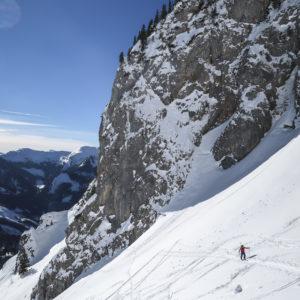 Skitouren für Forgeschrittene im Gesäuse mit Bergführer